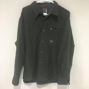 The North Face Button Down Fleece Shirt Size M